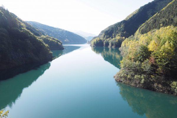 味噌川ダム(奥木曽湖)周辺