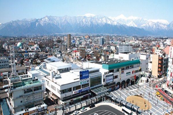 松本駅前広場(お城口から駅前広場、駅前通り周辺)